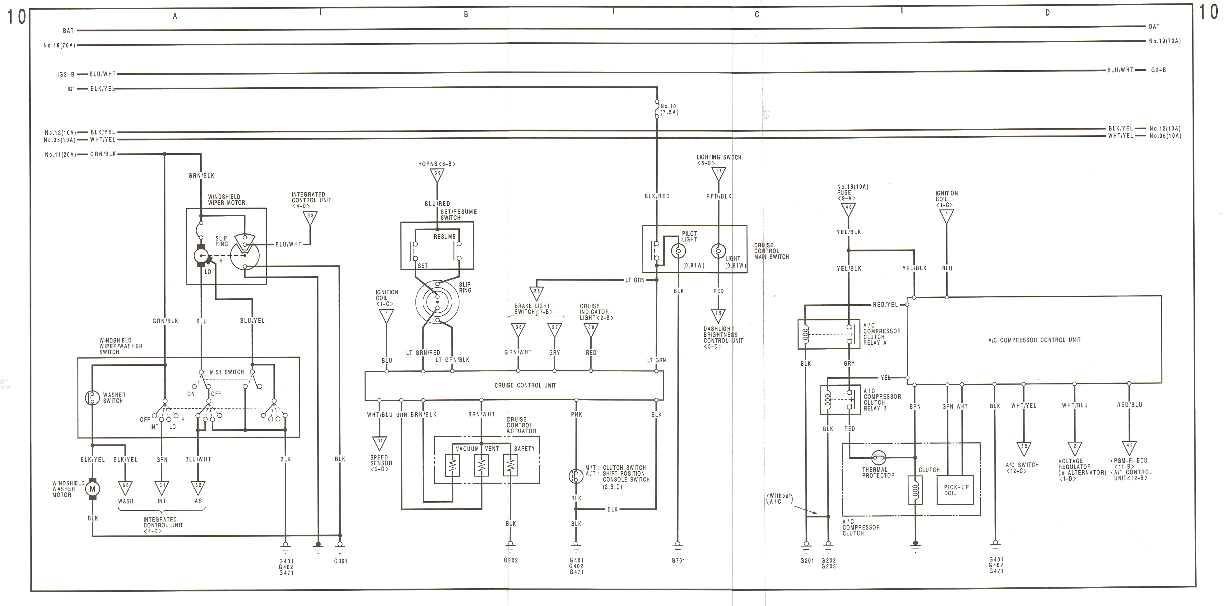 90-91 Wiring Diagrams on